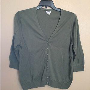 Old Navy Cardigan, XL, green, EUC